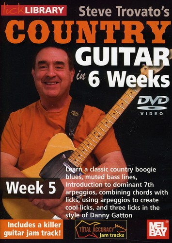 Trovato, Steve Country Guitar in 6 Weeks: Week 5