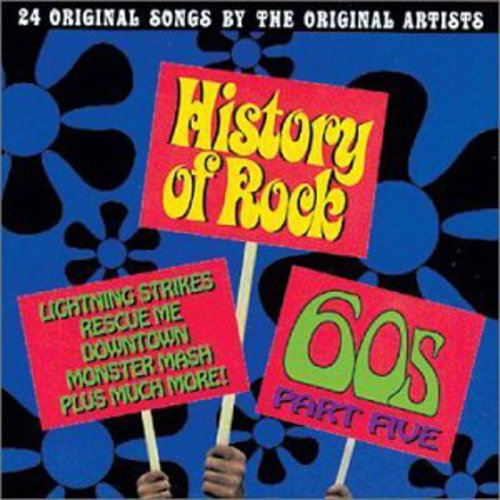 History of Rock 5: 60's /  Various