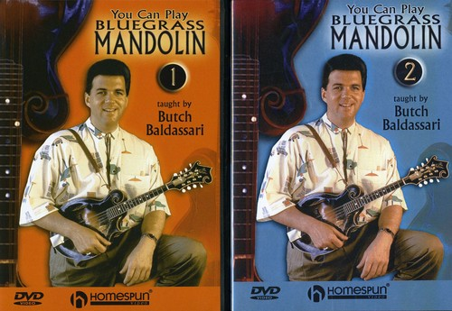 You Can Play Bluegrass Mandolin 1 & 2