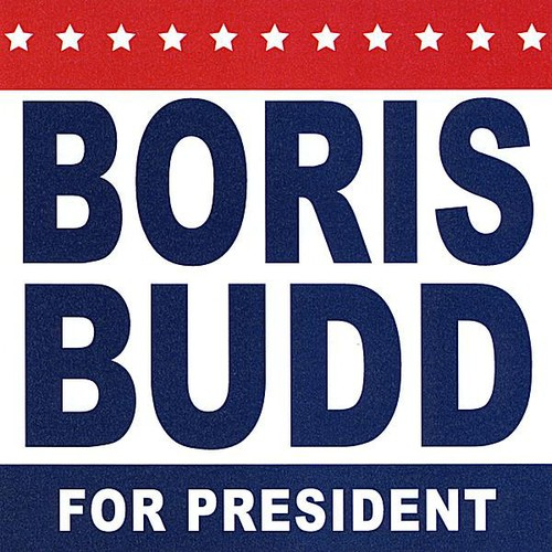 Boris Budd for President