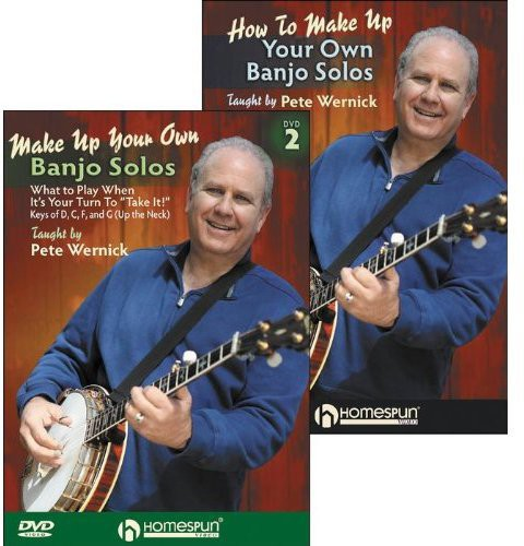 Make Up Your Own Banjo Solos 1 & 2