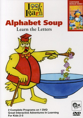 Look & Learn: Alphabet Soup - Lear the Letter