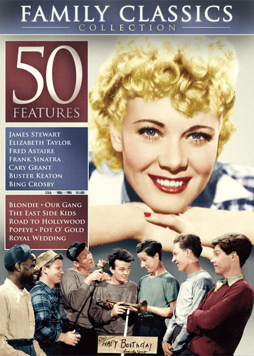 50-Feature Family Classics Collection