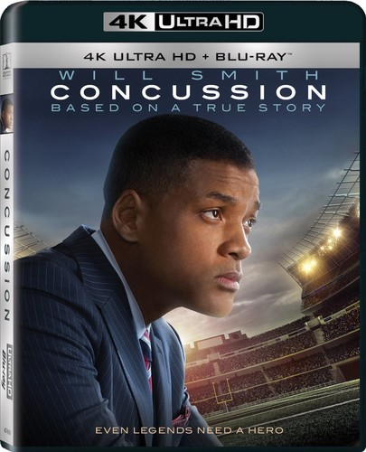 Concussion   [4K Ultra HD + Blu-ray]