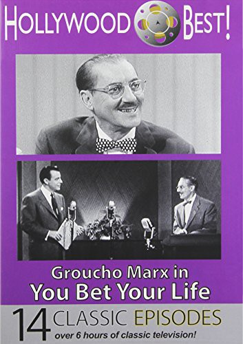 Hollywood Best Groucho Marx in You Bet Your Life