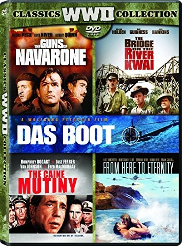 Bridge On The River Kwai/ Caine Mutiny/ Das Boot/ From Here To Eternity