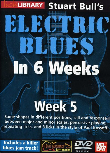 Electric Blues in 6 Weeks for Guitar: Week 5