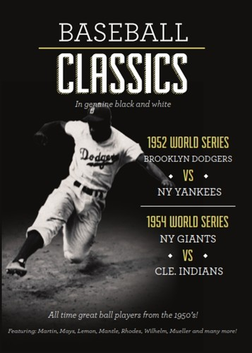 MLB: Baseball Classics Highlights from 1952-1954