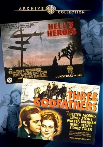 Wac Double Features: Hells Heroes/ Three Godfather