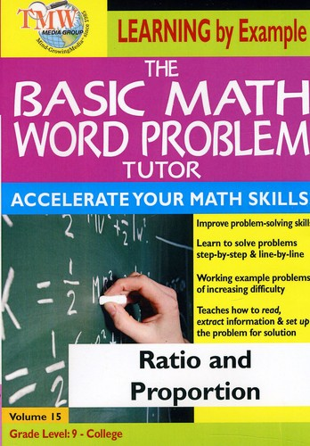 Basic Math Word Problms: Ratio & Proportion