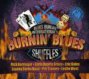 Blues Bureau Intl's: Burnin Blues Shuffles /  Various