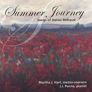 Summer Journey: Songs of Darius Milhaud