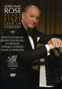 Jerome Rose Plays Liszt Live in Concert