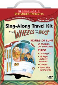Wheels on the Bus Sing-Along Travel Kit