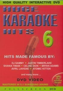 Vol. 6-Huge Karaoke Hits