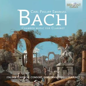 C.p.e.bach: Chamber Music For Clarinet