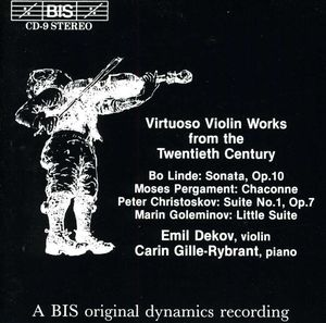 Virtuoso Violin Works from 20th Century /  Various