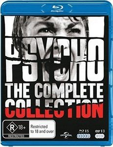 Psycho Collection Blu-Ray Boxset [Import]
