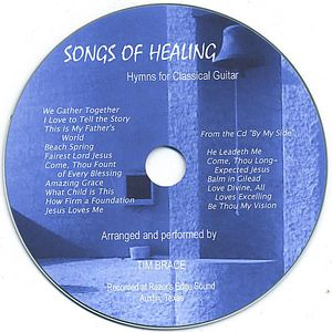 Songs of Healing: Hymns for Classical Guitar