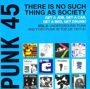 Punk 45: 2 Underground Punk in UK 1977-1981 /  Various