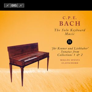 C.p.e. Bach: Solo Keyboard Music 31