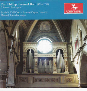 Carl Phillip Emanuel Bach: 6 Sonatas for Organ