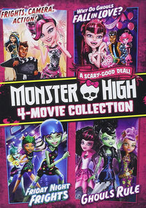 Monster High 4-Movie Collection: Frights Camera Action /  Why Do Ghouls