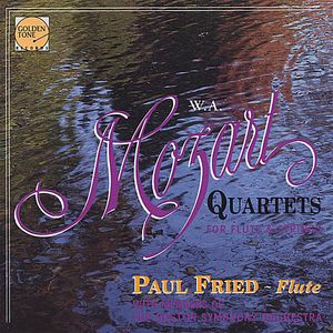 Mozart Flute Qts-Paul Fried & Members of the Boston Symphony Orchestra