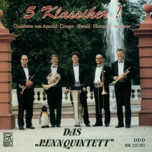 5 Classics for Brass Quintet: Crespo, Arnold, Etc