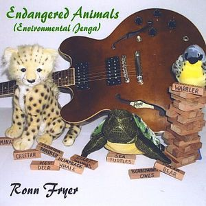 Endangered Animals (Environmental Jenga)