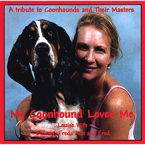 My Coonhound Loves Me