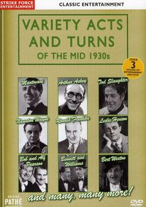 Variety Acts & Turns of the Mid 1930s [Import]