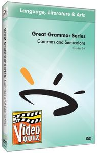Commas & Semicolons Video Quiz