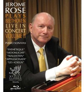 Jerome Rose Plays Beethoven Live in Concert 2