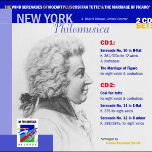 Wind Serenades of Mozart Plus Cosi Fan Tutte &