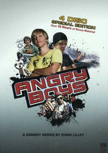 Angry Boys Special Edition Steelbook