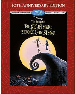 Tim Burton's the Nightmare Before Christmas 20th