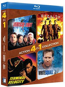 Action 4-Pack: Stealth /  Vertical Limit
