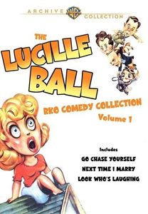 Lucille Ball Rko Comedy Collection 1