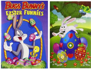 Bugs Bunny's Easter Funnies & Puzzle