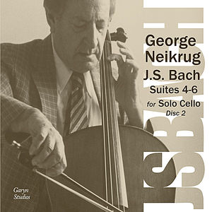 J.S. Bach: Six Cello Suites Disc 2