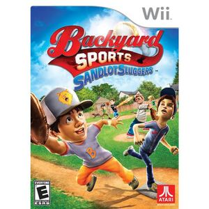 Backyard Sports Sandlot Sluggers  Wii