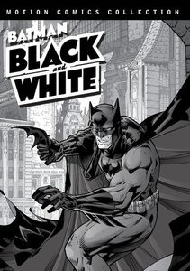 Batman Black & White Motions Comics Collection