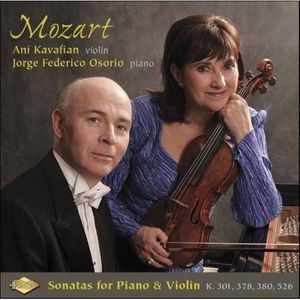Mozart Sonatas for Piano & Violin