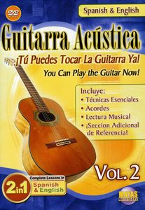 Guitarra Acustica 2: 2 in 1 Bilingual