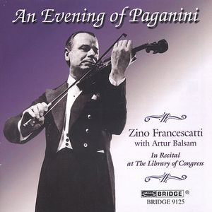Library of Congress 17: Zino Francescatti Plays