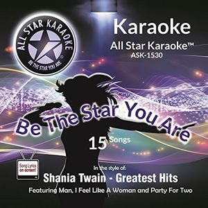 Karaoke: In The Style Of Shania Twain Gh /  Various