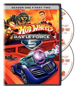 Hot Wheels Battle Force 5: Season 1 PT.2