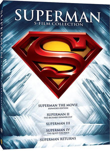 Superman 5 Film Collection