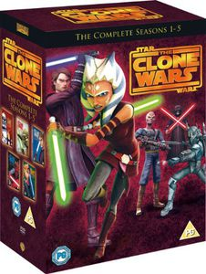 Star Wars-Clone Wars: Season 1-5